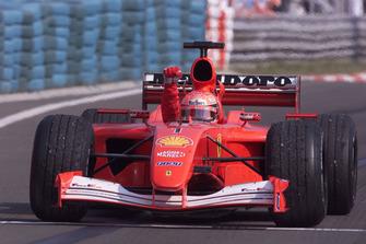 Ganador Michael Schumacher, Ferrari F2001