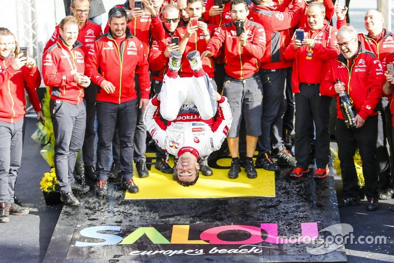 Победа Леба на Ралли Испания