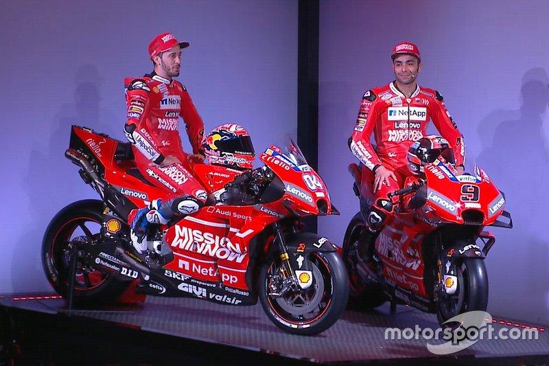 Andrea Dovizioso and Danilo Petrucci, Ducati