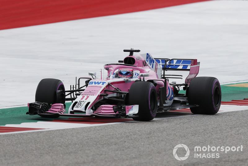 7 місце — Серхіо Перес, Force India — 71