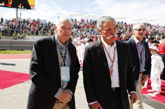 John Malone, Chairman, Liberty Media, and Chase Carey, Chairman, Formula One