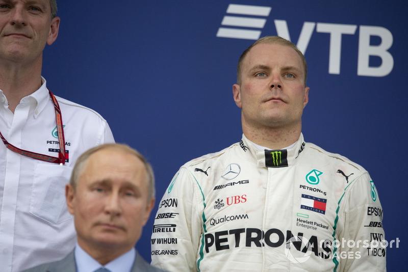 """Valtteri Bottas: """"Eu podia esperar por isso. Porque, obviamente, Lewis está lutando pelo campeonato de pilotos e eu não."""""""