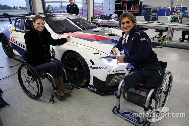 Nathalie McGloin, Commissione FIA per le Disabilità e l'Accessibilità, Alex Zanardi, BMW M8 GTE