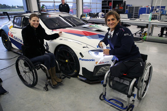 Nathalie McGloin, FIA Disabilty und Accessibility Commission, Alex Zanardi, BMW M8 GTE