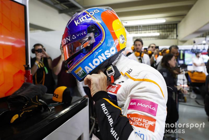Ферандо Алонсо, McLaren