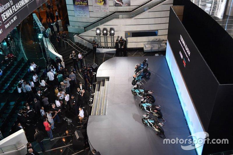 Presentazione Petronas Yamaha