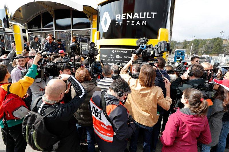 Medios en Renault F1 Team