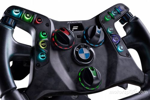 Fanatec steering wheel BMW M4 GT3