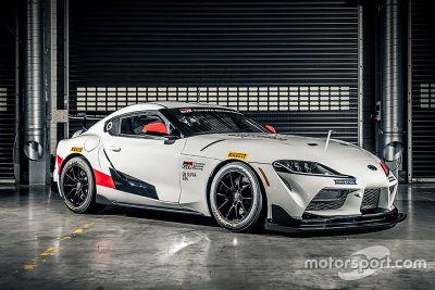 Toyota GR Supra GT4 unveil