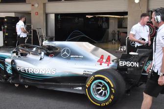Mercedes-AMG F1 W09, la fiancata