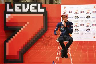 Campeón 2018 Marc Márquez, Repsol Honda Team celebra en Cervera