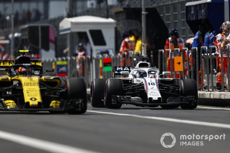 Carlos Sainz Jr., Renault Sport F1 Team R.S. 18, Lance Stroll, Williams FW41