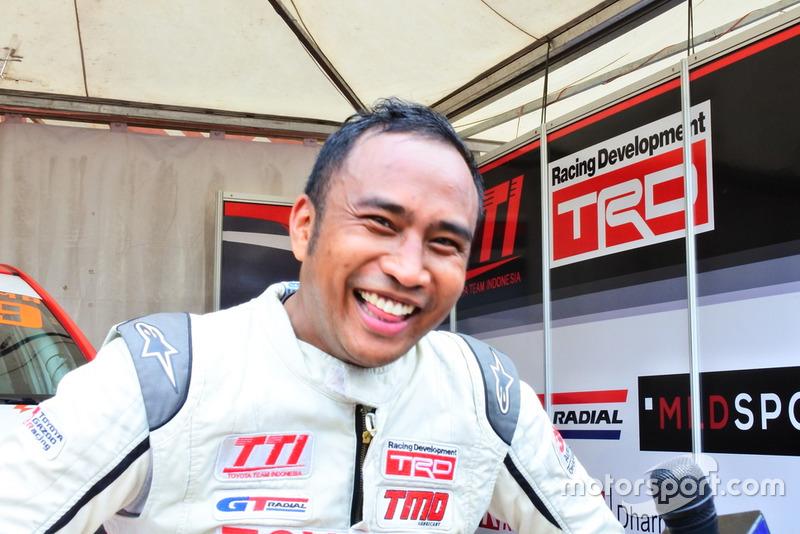 Haridarma Manoppo, Toyota Team Indonesia