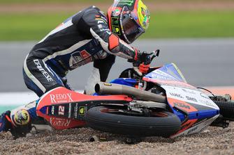 Marco Bezzecchi, Prustel GP después de la caída