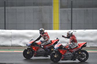 1. Andrea Dovizioso, Ducati Team, 4. Michele Pirro, Ducati Team
