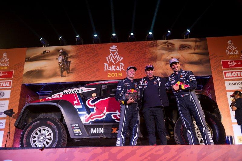 Подіум: #308 X-Raid Mini JCW Team: Сіріль Депре, Жан-Поль Коттре