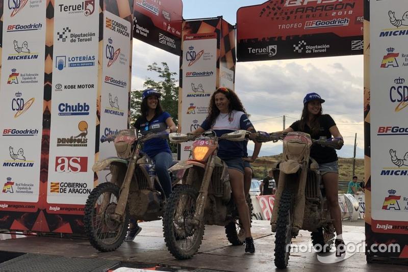 Жіночий подіум Баха Арагону 2018: Роса Ромеро, Сара Гарсія та Ріта Віейра