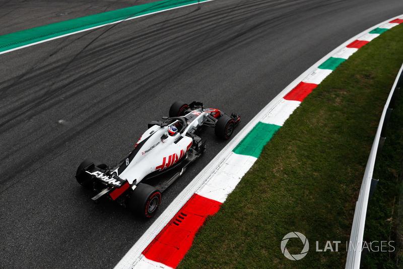 Grosjean kwalificeert zich als zesde