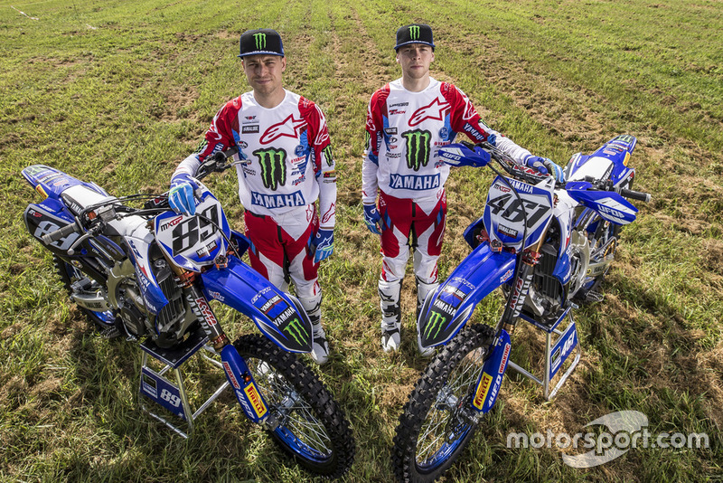 Jeremy Van Horebeek and Romain Febvre, Yamaha Factory MXGP Team with special livery Indonesia