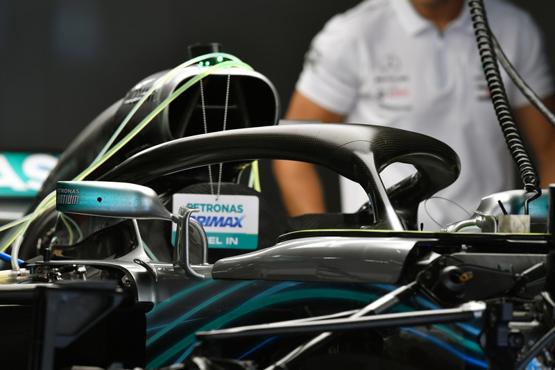 Mercedes-AMG F1 W09 halo
