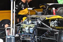 Renault Sport F1 Team R.S. 18 detalle de la suspensión delantera