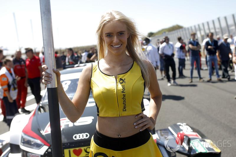 Loic Duval, Audi Sport Team Phoenix grid kızı
