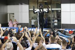 Le Champion du monde Thed Björk, Polestar Cyan Racing, Volvo S60 Polestar TC1