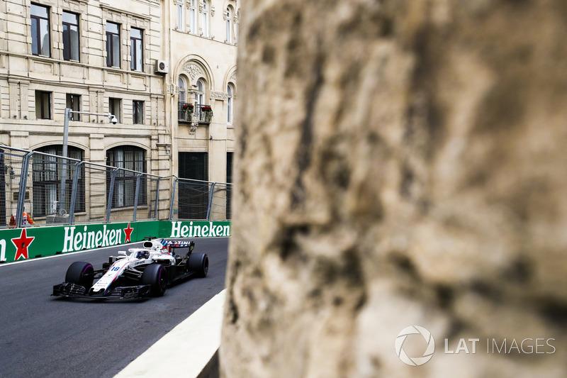 10. Lance Stroll, Williams FW41