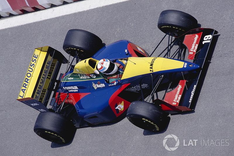 4. Philippe Alliot, 109 GPs (1984-1990, 1993-1994). Seu melhor resultado é ol 5º (San Marino 1993).