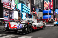 Porsche 919 Hybrid à New York