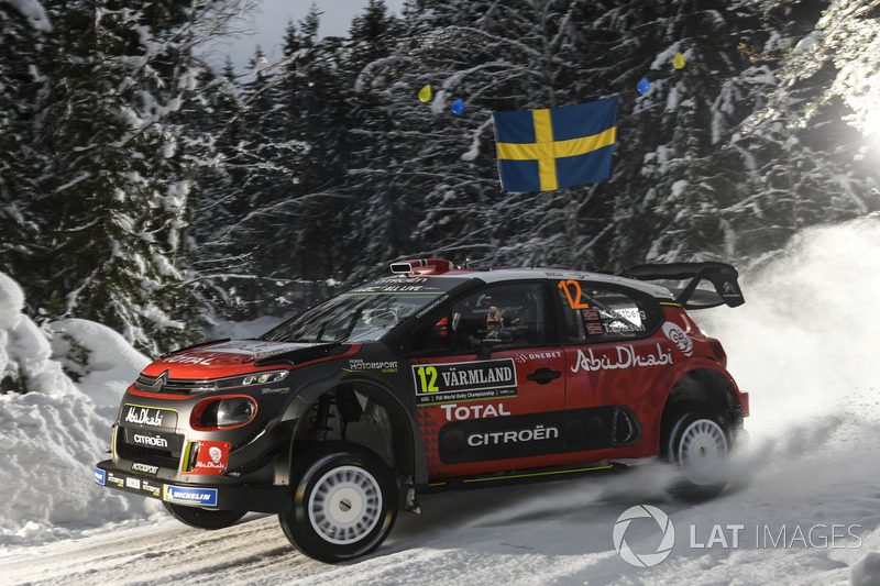 Mads Ostberg, Torstein Eriksen, Citroën C3 WRC, Citroën World Rally Team