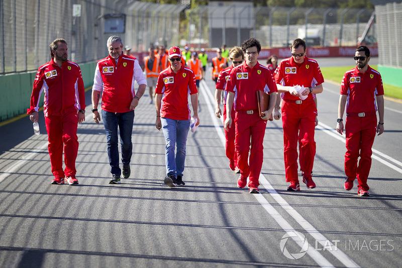Себастьян Феттель, Ferrari, Маурицио Арривабене, руководитель команды Ferrari