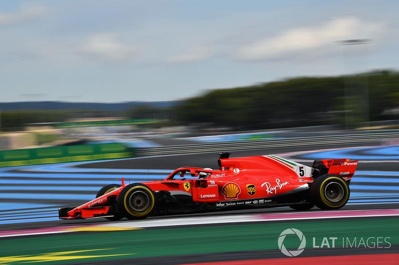 GP de Francia Sebastian Vettel