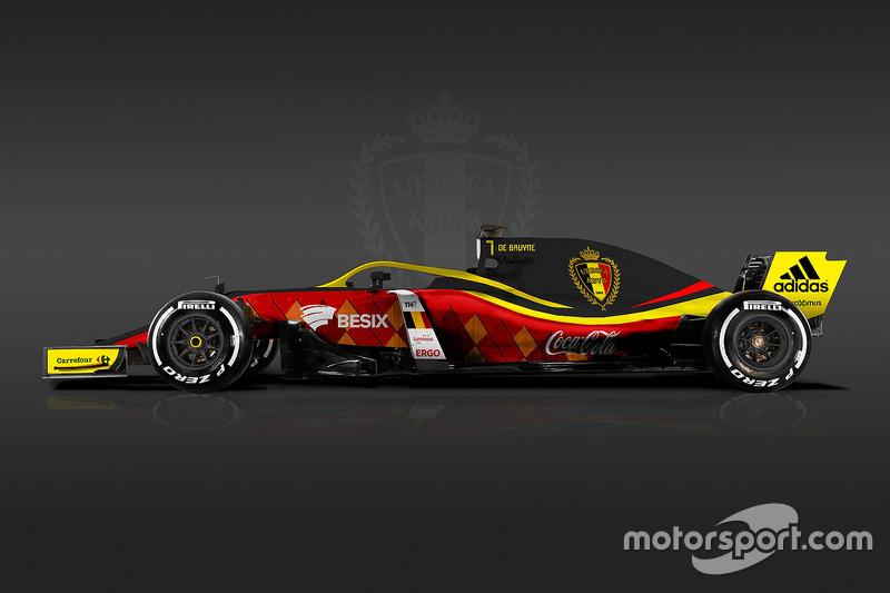 Formula 1 Dünya Kupası tasarımları - Belçika