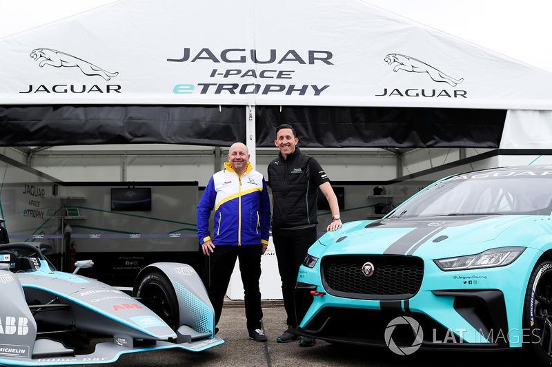 James Barclay, Team Director, Jaguar Racing, the Gen2 Formula E car, the Jaguar iPace eTrophy car