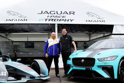 James Barclay, Director del equipo, Jaguar Racing, el automóvil Gen2 Formula E, el Jaguar iPace eTrophy car