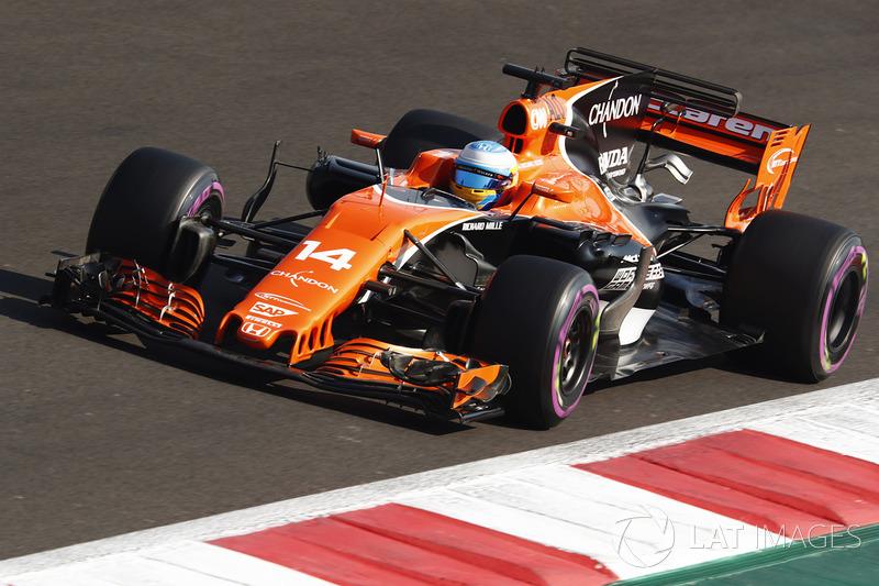 18. Fernando Alonso, McLaren MCL32 *
