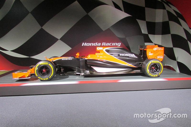 McLaren-Honda(MP4-31 '17カラーモデル)