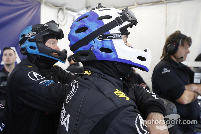Michael Shank Racing crew