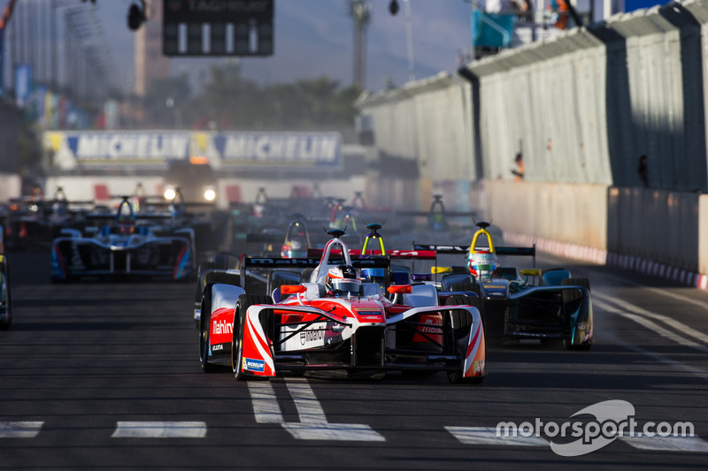 Aksi balapan, Marrakesh ePrix
