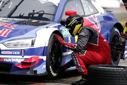 Boxenstopp: Mattias Ekström, Audi Sport Team Abt Sportsline, Audi A5 DTM