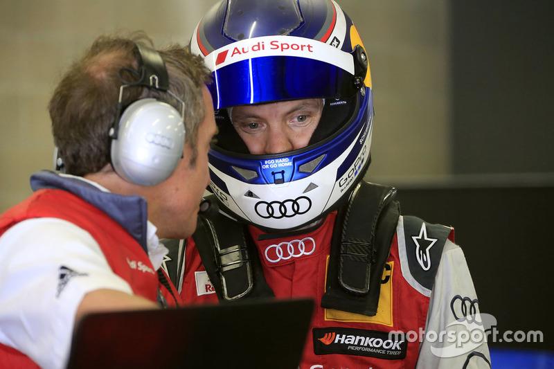Mattias Ekström mit Florian Grunwald, Audi