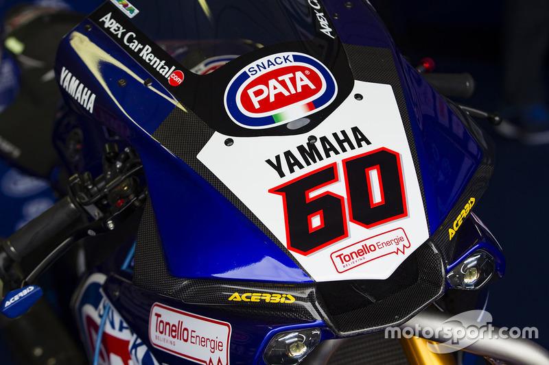 Bike von Michael van der Mark, Pata Yamaha