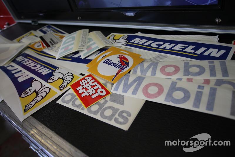 Gli adesivi delle Porsche 911 GT3 Cup