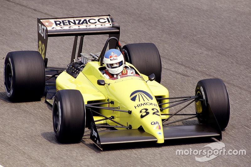 Nicola Larini, Coloni FC187 Ford