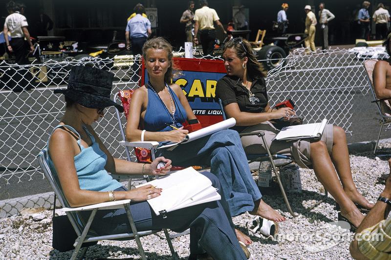 Barbro Peterson, esposa de Ronnie Peterson, Lotus