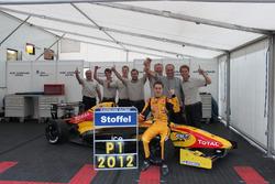 Championship winner Stoffel Vandoorne, Josef Kaufmann Racing