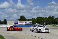 #78 MP3A Mercedes C250, Walter Solalinde, Miami Premium Race, #301 MP1A Ferrari 458, Jonathon Ziegelman, NGT Motorsport