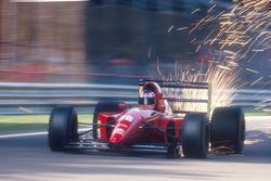Funkenflug: Ivan Capelli, Ferrari F92A