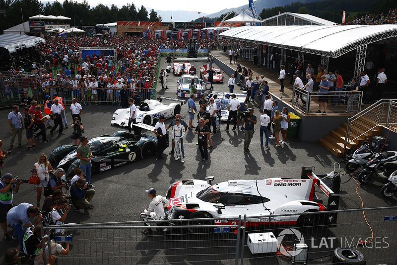 Brendon Hartley Porsche 919, Bentley, BMW V12 LMR, Group C Porsche, BMW CSL, Ferrari 512 ve Porsche 917